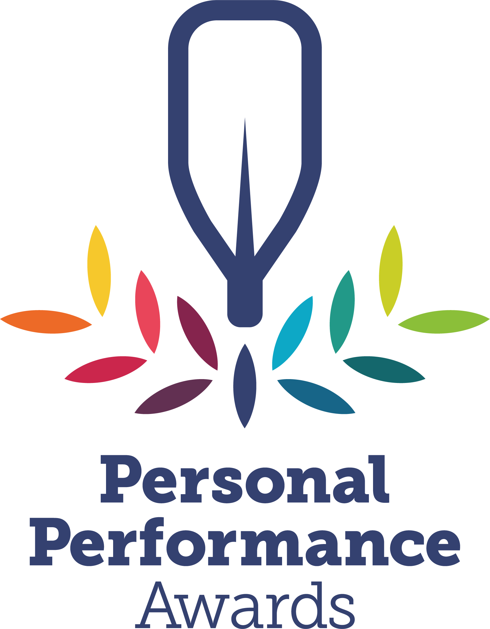 British Canoeing Personal Performance Awards Full Colour Stacked